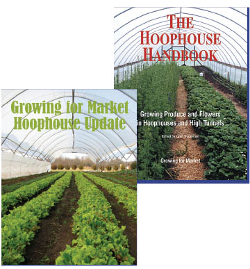 Covers of two hoophouse books