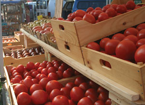 Tomatoes at Market