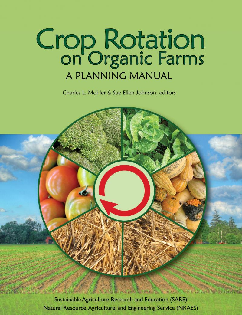 Crop Rotation On Organic Farms Growing For Market